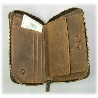 SETTLER(セトラー)Zip-Around Compact Wallet