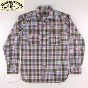 NO.SC26537 MFSC ミスターフリーダム Made in U.S.A.MADRAS CHECKSPORTSMAN SHIRT