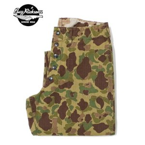 BUZZRICKSON'S バズリクソンズ ミリタリートラウザース『M1942 CAMO UTILITY TROUSERS』【アメカジ・ミリタリー】BR41224(Other pants)