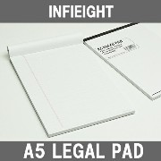 INFIEIGHT インフィエイト A5 リーガルノートパット (罫線) RULED PAD ☆ 10P01Oct16【 おしゃれ プレゼント ギフト ス...