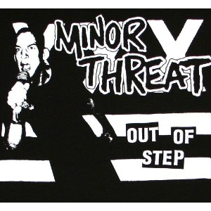Minor Threat / Out Of Step Tee (Black)