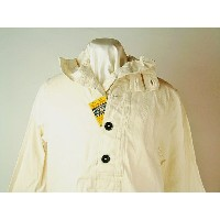Buzz Rickson's (バズリクソンズ)WHITE DENIM ONE WASHHOODED PULLOVER JACKET 送料無料 【smtb-TK】