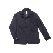 【期間限定30%OFF!】POST OVERALLS(ポストオーバーオールズ)/#2129 OK42 WOOL FLANNEL JACKET/navy