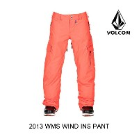 2013 VOLCOM ボルコム パンツ WOMEN'S WILD INSULATED PANT FCR