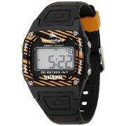 フリースタイル 腕時計 男女兼用 時計 シャーク Freestyle Unisex FS81267 Shark Orange Stripe Black Polyurethane Watch