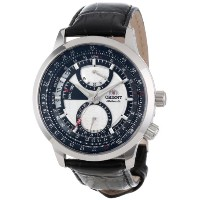 オリエント 時計 メンズ 腕時計 Orient Men's CDH00001W Explorer Power Reserve Meter Watch