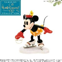 WDCC ミニー わーい! スケート オン・アイス Minnie Mouse Whee On Ice 1028633 □