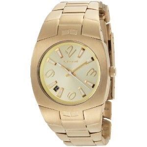 ベスタル 時計 レディース 腕時計 Vestal Women's MGH001 Mini Gearhead Gold Ion-Plated Watch
