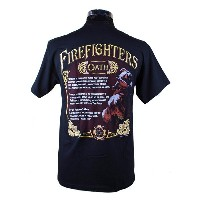 Firefighters Oath 消防Tシャツ SH