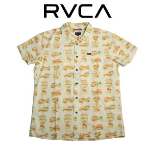 RVCA ルーカ シャツ メンズ af041-125 CANKER S/S