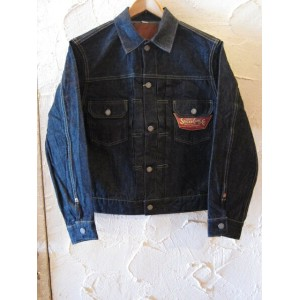 ★送料無料★SUGAR CANE シュガーケン /14.25oz DENIM JKT 1953MODEL NAVY ONEWASH