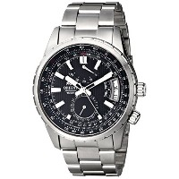 オリエント 時計 メンズ 腕時計 Orient Men's FDH01002B0 Voyager Analog Display Japanese Automatic Silver Watch