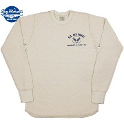 "BUZZ RICKSON'S/バズリクソンズ L/S THERMAL T-SHIRT""U.S. AIR FORCE"" USエアフォースプリント入り、長袖サーマルTシャツ NATURAL..."