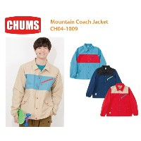 CHUMS チャムス CH04-1009<Mountain Coach Jacket-マウンテンコーチジャケット>※取り寄せ品