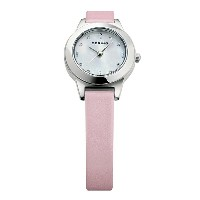 BERING Ladies Calf Leather Frost flower(11125-604 ホワイト×シルバー×ピンク)