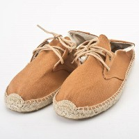 SOLUDOS ソルドス エスパドリーユ レースアップ Lace Up Canvas Derby Brown サイズ:37