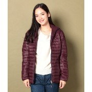 ★dポイント20倍★【TOMMY HILFIGER(トミーヒルフィガー)】GROSGRAIN WAIST QUILTED JACKET【dポイントでお得に購入】