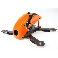 HobbyKing RoboCat 275mm True Carbon Racer Quad (Orange)