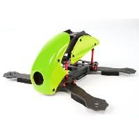 HobbyKing RoboCat 275mm True Carbon Racer Quad (Green)