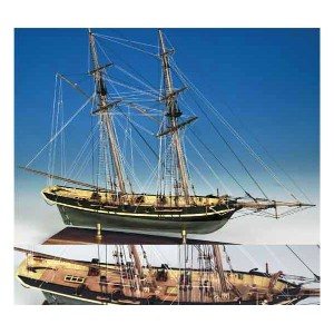 ModelShipways ダッパートム(Dapper Tom Baltimore Clipper 5/32 Scale) MS2003