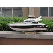 Cyclone ARTR Queen 26cc Gasoline RC Boat with Clutch--New Black color(W/O Radio System) BG13080-DN