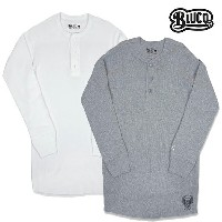 【BLUCO WORK GARMET】THERMAL SHIRTS 2 PACK -henly neck- OL-018カラー:A-PACK white/gray(2枚組)【ブルコ】【スケートボード...