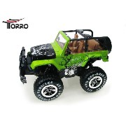 Torro 1/10 RCジープ RTR(RC Jeep 4x4 WD Cross Country Car Scale 1/10)1152400720