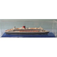 Scherbak 1/1250 クイーンメリー2(Queen Mary 2 Cunard Line, 2003. With extended bridge wings after 2006...