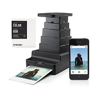 Impossible iPhone用 インスタントフィルム プリンター IMPOSSIBLE INSTANT LAB BLACK PLUS FILM 2958