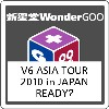V6/V6 ASIA TOUR 2010 in JAPAN READY?<Blu-ray>20160224