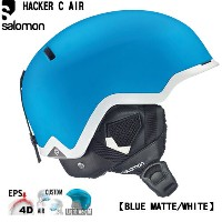 SALOMON サロモン 2016 ヘルメット HACKER C AIR ハッカー (BluematWhite):L35201500 [30_off] [SP_SKI_ACC]