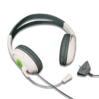 XBox 360 Large Style Headset (Earphone & Microphone) For xBox 360 Online Gaming with Foam Ear Pieces for Comfort and Adjustable Mic Arm & Volume Control