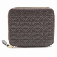COMME DES GARCONS CLASSIC EMBOSSED A ラウンドファスナー 2つ折り財布 Wallet 選べるカラー コンパクト メンズ レディース...