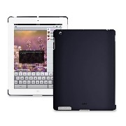 PURO iPad2用背面カバー BACK COVER IPAD 2 SOFT TOUCH BLUE(Smart Cover対応) IPAD2BCOVERBLUE