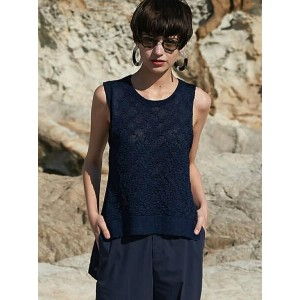 【SALE/50%OFF】MADE IN HEAVEN Lucid knit top デザインニットタンク クライ ニット【RBA_S】【RBA_E】【送料無料】