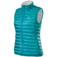 ダウンベスト レディース ホグロフス HAGLOFS (602325) ESSENS II Q DOWN VEST カラー:BLUEBIRD/SOFTWHITE [30_off] [SP_WOD...