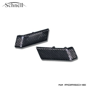 【schnell】ポルシェ 997 カーボン アクセントカバー リアルカーボンシリーズ ※ Porsche 997 Carbon Accent Cover Real Carbon Serise...