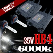 HIDキット マツダ デミオ (DEMIO) DY3W DY5W フォグランプ (平成14.8-17.3) 12V 35W 9006 HB4 6000K 送料無料 AARB406