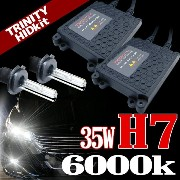 HIDキット ボルボ (VOLVO) MB5244 ロービーム (平成9.5-13.9) 12V 35W H7 6000K 送料無料 AAR0706