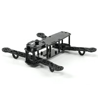 H-King Color 250 Class FPV Racer Quadcopter Frame (Black)