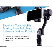 ZHIYUN Z1 Smooth C 【新型】3軸手持ちジンバル iPhone5/ iPhone6/iPhone6s/iPhone6s plus/Sony/Nexus等機種対応 7inch以内携帯用(Z1 Smooth...