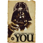 STAR WARS ポスターS Empire needs you 2003
