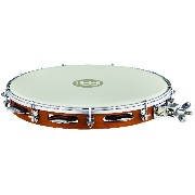"""MEINL Percussion マイネル パンデイロ Traditional Wood Pandeiro with Holder 12"""" PA12CN-M-TF-H 【国内正規品】"""