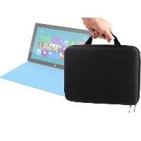 DURAGADGET マイクロソフト Surface Windows RT搭載 64GB 32GB 256GB & Surface 2 RT 128GB タブレット専用 丈夫で固いジッパー付...