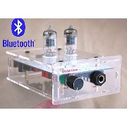 【TYSJ】Nobsound® オーディオレシーバー Bluetooth Transparent Chassis valve 6J1 tube HIFI AMP ステレオ HIFI オーディオ ...