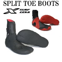 X-SURF GEAR エックスサーフギア SPLIT TOE BOOTS 3mm / SURF BOOTS SOFT サーフィン サーフブーツ リーフブーツ サーフィン...