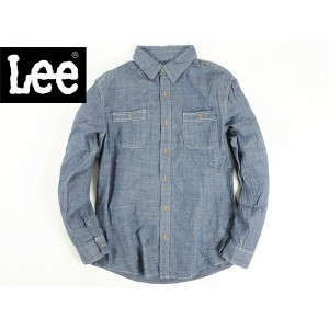 リー Lee シャンブレーシャツ ブルー (TEXTURED CHAMBRAY TWO POCKET SHIRT MOONLIGHT BLUE)