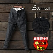 【Johnbull】 WIDE EASY PANTS (ap388) Lady's □ 05P01Oct16