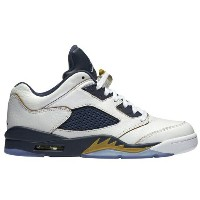 Jordan Retro 5 Low メンズWhite/Metallic Gold/Midnight Navy ジョーダン バッシュ