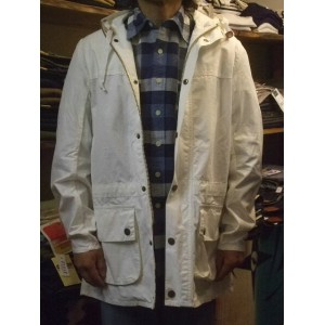 『BARBOUR』(バブアー)COTTON OVERDYED SL DURHAM (送料無料)532P17Sep16